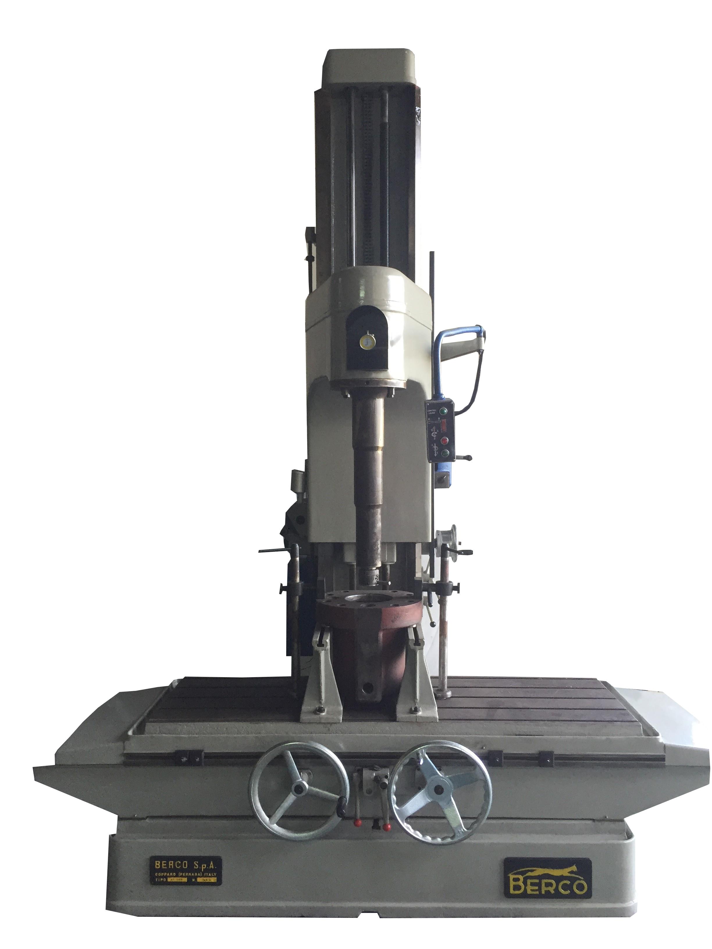 Berco 1400-S Used Cylinder Boring Machine